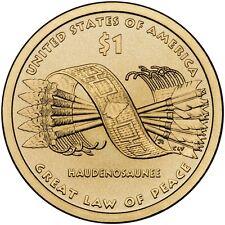 2010 Sacagawea Native American Golden Dollar P&D Set