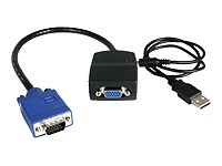 StarTech 2-Port VGA Video Splitter (Black)