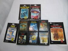 Atari 2600 Sears telegames lot of 6 with cover art Space Invaders Haunted House