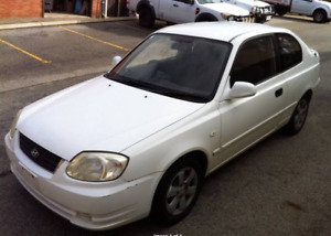 Wrecking Hyundai Accent LC 3 Door 1.6L 2003 2004 2005 2006