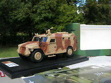 MASTER FIGHTER 1/48 MILITAIRE RENAULT SHERPA LIGHT APC Tourelle WASP 4X4 sable