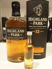 Whisky muestra sample Highland Park 12yrs 5cl 50 ml no Miniature!