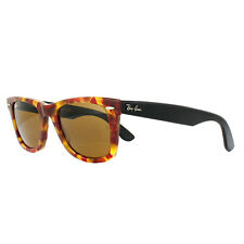 Ray-Ban Sunglasses Wayfarer 2140 1161 Spotted Red Havana Black Brown Medium 50mm