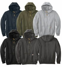 Carhartt Men's Midweight Hooded Sweatshirt Zip Front Long Sleeve Workwear Hoodie