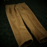 Mens Quality Bespoke Bookster Moleskin Country Trousers Size 36 37 Waist 28/29L
