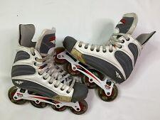 Mission Inline Helium 5500 Quattro Hockey Roller Skates Size 8D ( 8 Us Men Shoe