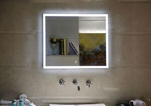 LED-Beleuchtung Badezimmerspiegel GS042 Lichtspiegel mit Touch-Schalter