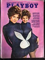 Playboy, magazine, Oct, 1970, Madeleine Collinson, Vargas