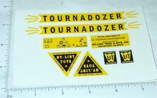 Nylint Tournadozer Const Vehicle Stickers       NY-024