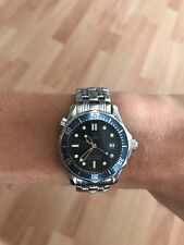 omega seamaster professional 300m 36mm quartz blau medium