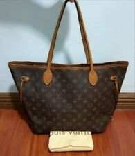Used Authentic Louis Vuitton LV Bag Neverfull MM Monogram