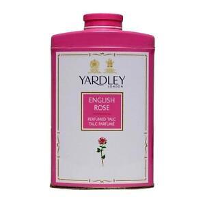 A 1 3 Tins of Yardley Talc Powder English Rose 250 gms/ 8oz