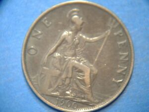 Great Britain Penny KM# 790 1900    A138  I COMBINE SHIPPING