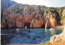 B50219 La Corse Les Calanches Capo Rosso boats bateaux   france