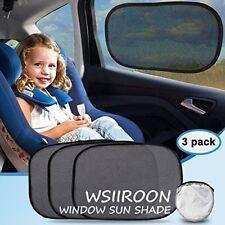 Conjunto De Parasoles Para Ventanas Del Auto Protección Infantil Rayos UV
