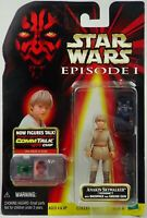 Anakin Skywalker Action Figure & CommTalk Chip, Star Wars Episode 1 Collection 1