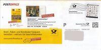 0056. Plusbrief Faltbrief PostOffice Dialogpost Wellenstempel Ganzsache, undat.