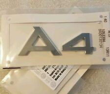 Emblema Logo Insignia Audi A4 Sline Quattro Original TDI TFSI