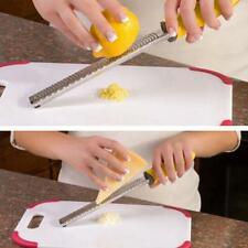 Stainless Steel Zester Cheese Lemon Peeler Microplane Kitchen Grater Tool HOT LG