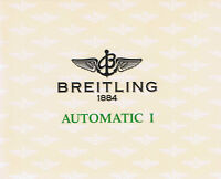 BREITLING AUTOMATIC 1 ANLEITUNG INSTRUCTIONS I457