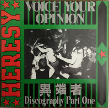 Heresy ‎– Voice Your Opinion (Discography Part One)