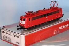 Fleischmann 738010, Spur N, DB AG BR 151 010-6, orientrot, 6-achsig, Epoche 5