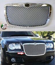 Chrysler 300C 300 C 2004-2011 GRIGLIA Anteriore design Cromato a nido d'ape