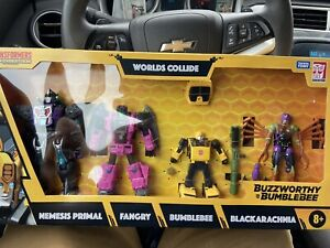 Transformers Buzzworthy BUMBLEBEE War For Cybertron WORLDS COLLIDE Ships Now