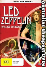 Led Zeppelin - Up Close & Personal  DVD NEW, FREE POSTAGE WITHIN AUSTRALIA REG 4