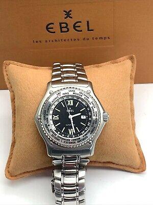 Ebel Voyager World Timer Automatic GMT Bezel - E 9124341