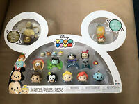 Disney Tsum Tsum Exclusive Gift Set 24 Pcs Gold Mickey Minnie Mouse Figurines BN