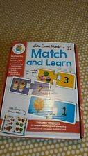 Number Match and Learn Puzzles Matches words and numbers and items to count 0-20