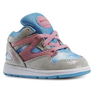 REEBOK V62821 CINDERELLA PUMP OMNI Inf's (M) White/Pink Synthetic Classic Shoes
