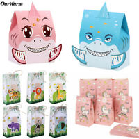 12× Paper Party Loot Bags Birthday Gift Treat Sweet Favour Candy Bag & Candy Box