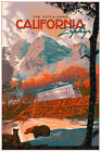 California Zephyr Variant by Laurent Durieux SIGNED Ltd /150 Screen Print Poster