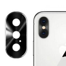Protector Metal Anillo  Aluminio cámara trasera de IPHONE X, iPhone X Plus