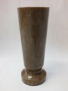 Vintage Art Deco Vase Cataline Bakelite Weight 535g brown