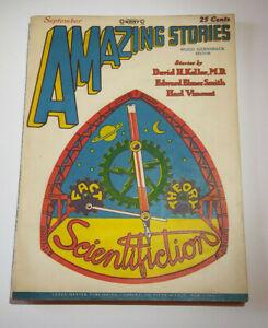 Amazing Stories Pulp #Vol. 3 # Very Rare 9.4 Near Mint Grade!! 1928