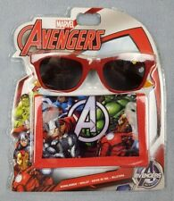 Marvel Avengers Wallet and Sunglasses Gift Sets UV Sun Safe Summer Holiday