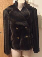 VIVIENNE WESTWOOD RED LABEL Brown Faux Fur Jacket Size UK 10/EU 36 £1200