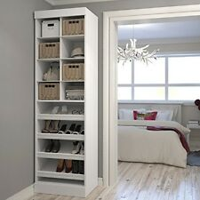 Bestar Pur by 25 inch Multi-Storage Cubby in White 26164-17 cabinet NEW