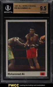 1991 All World Boxing Muhammad Ali #69 BGS 9.5 GEM MINT