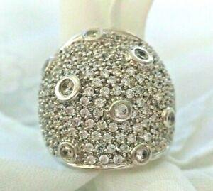 Sonia BittonSterling silver & CZ Ring  - Sz 5