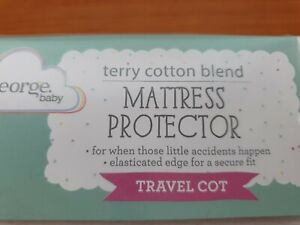 George White Travel Cot Mattress Protector