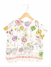 BNWT Beautiful MARNI Junior Girls Floral Print S Sleeve Blouse Top Italy Size 6