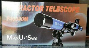 MaxUSee Kids Telescope 400x40mm with Tripod Portable Telescope
