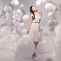 Clear Pearl Transparent Latex Balloons Birthday Wedding Party Decor 100 pcs