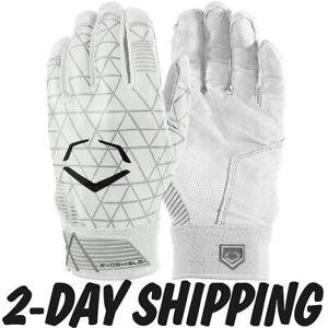 EvoShield Youth EVOCHARGE GEL TO SHELL Batting Gloves WHITE -WTV4101WH