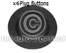 Clip Fasteners Plug Buttons Renault Kangoo/Koloes etc Part 1384re Pack of 6