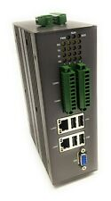 Lanner LEC-2300 Compact Industrial DIN Rail Mount PC Computer 4 Serial 4DI/DO